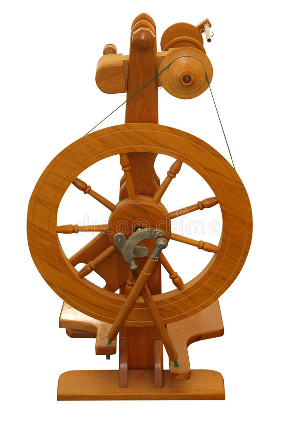 Modern Spinning Wheel Royalty Free Stock Photos