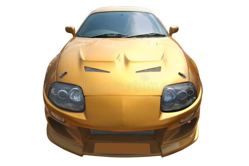 Modern sport car royalty free stock photo