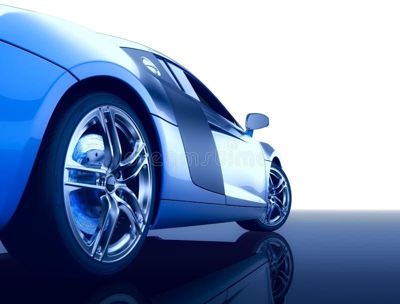 modern sport för bil arkivfoto
