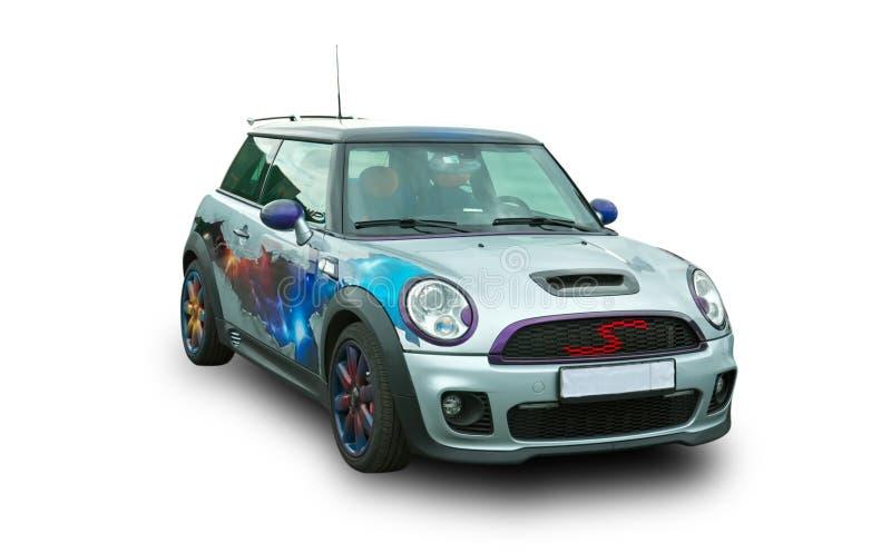 modern sport för bil Populär brittisk bil arkivbilder