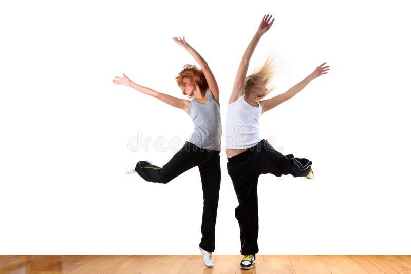 Modern sportdansare för kvinna royaltyfria foton