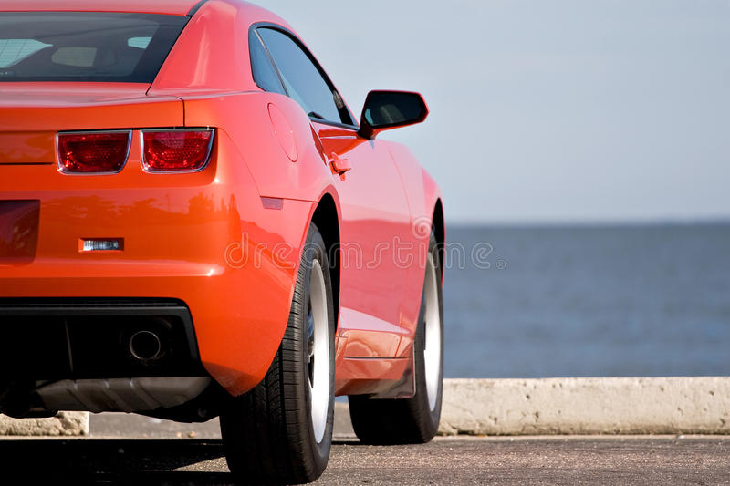 Modern Sports Car royalty free stock photography