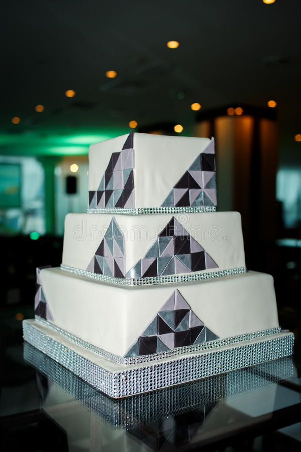 Modern Square Wedding Cake Photos Free Royalty Free Stock Photos From Dreamstime
