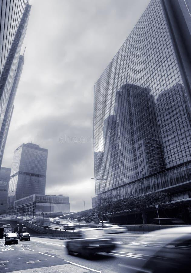 modern stad royaltyfri fotografi