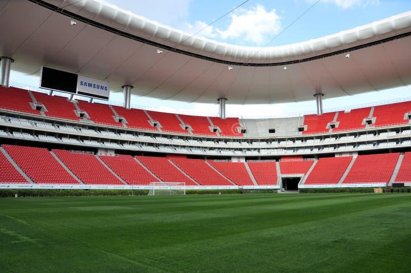 Modern Stadion royalty-vrije stock afbeelding