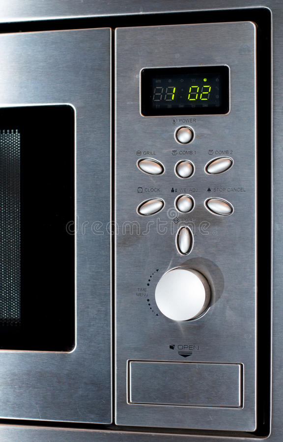 Download Modern Stainless Steel Microwave Oven Stock Photo - Image: 20558530