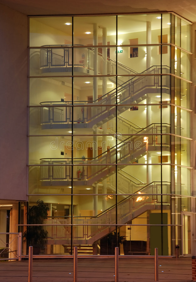 Modern Staircase Royalty Free Stock Image