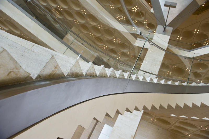 Download Modern stairs stock photo. Image of lifestyle, glass, luxury - 9585390