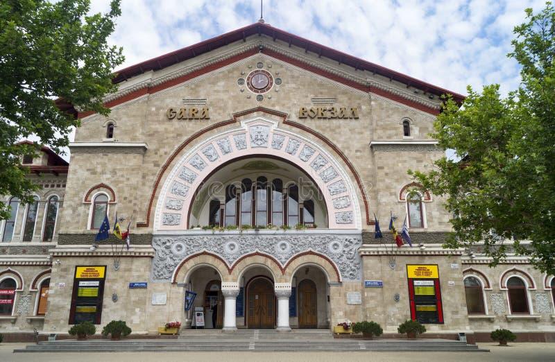 Railway station in Chisinau stock image