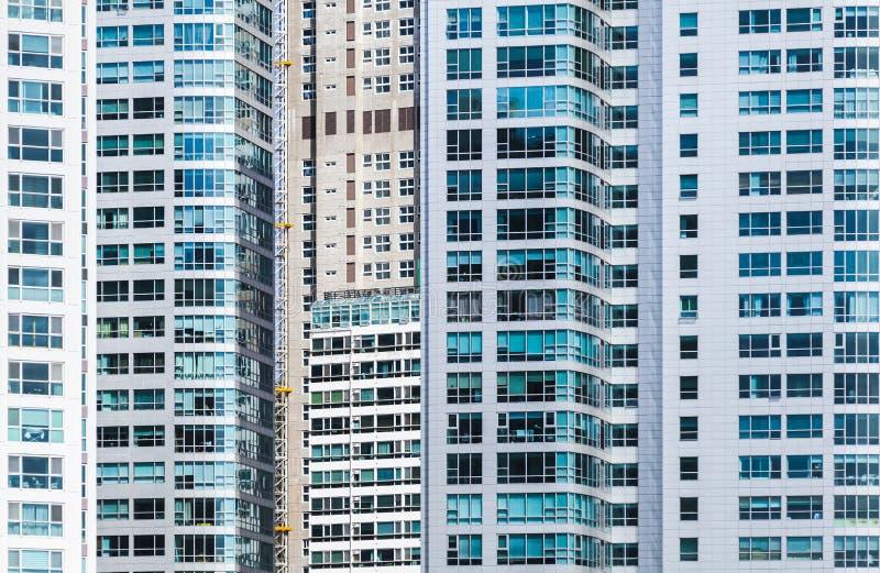 Modern stedelijk architectuur abstract patroon stock foto's