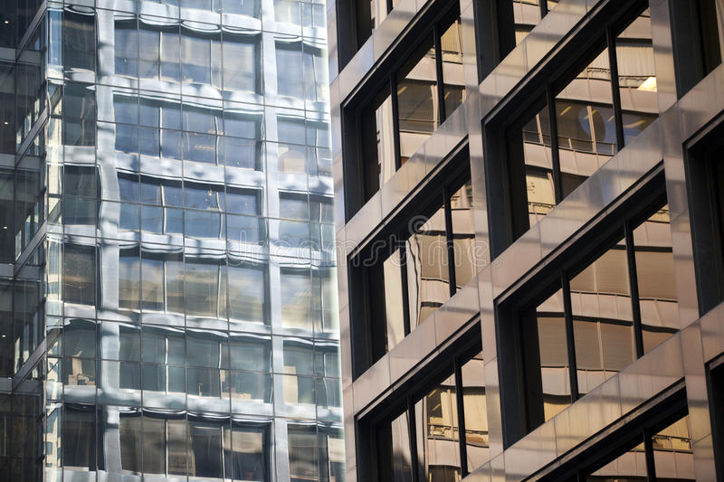 Download Modern Steel And Glass Office Building Detail Stock Photos - Image: 18468893