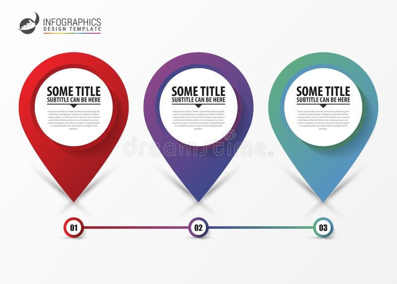 Modern steps timeline infographic. Business concept. Vector royalty free illustration