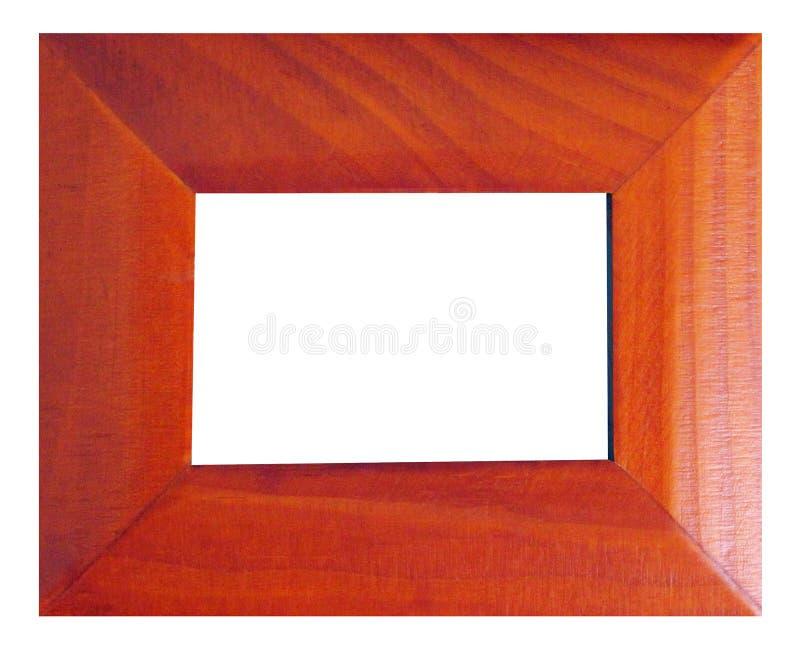 Modern stijl houten frame royalty-vrije stock fotografie