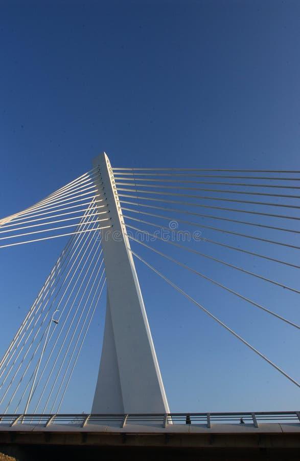 modern stil för bro royaltyfri bild