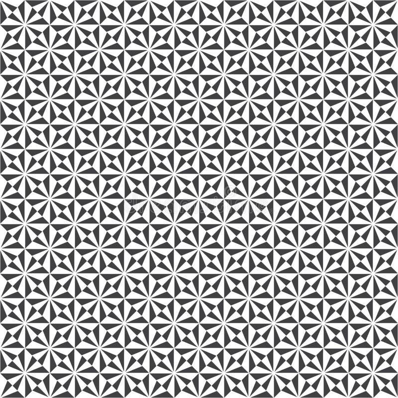 Modern stilfull geometrisk textur vektor illustrationer
