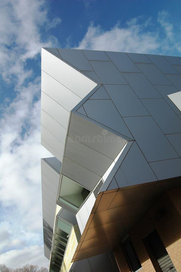modern stolpe för arkitektur royaltyfri fotografi