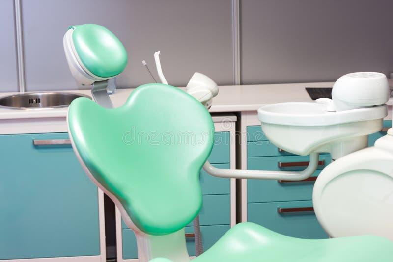 Modern stomatologisch kabinet stock afbeeldingen
