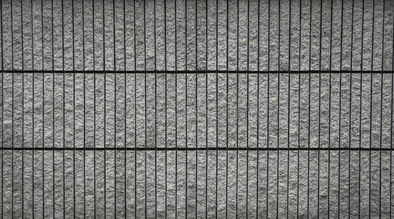 Modern stone brick wall. For using as background and texture. stock photography