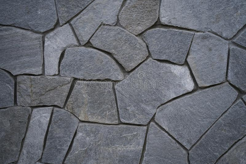 Modern stone wall great  for backgrounds, wallpapers royalty free stock photo