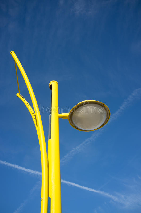 Free Modern Street Lamp Royalty Free Stock Photo - 37831115