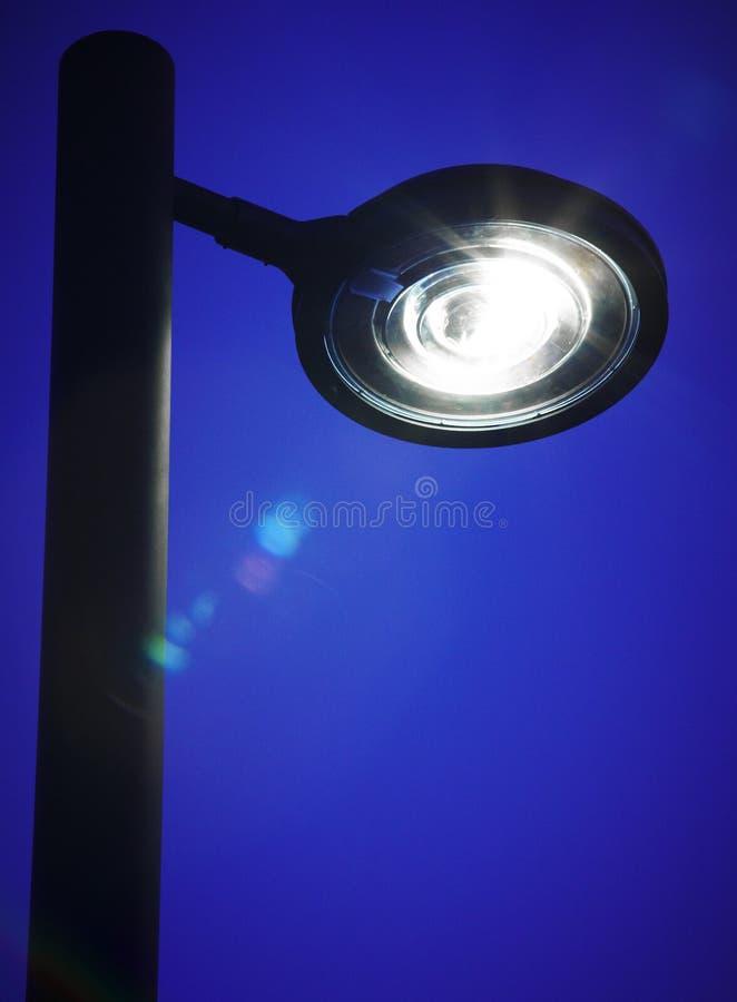 Free Modern Street Lamp By Night Stock Photography - 42127932