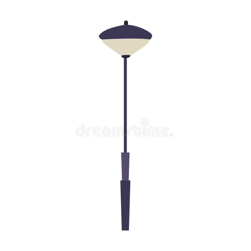 Free Modern Street Lamp Icon, Colorful Design Stock Photos - 169220523