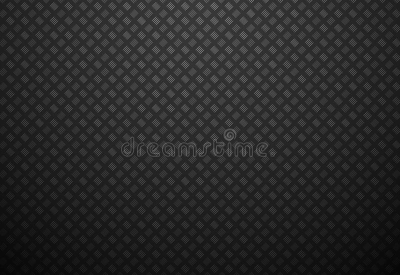 Abstract black metal background. Modern style abstract black metal background royalty free illustration