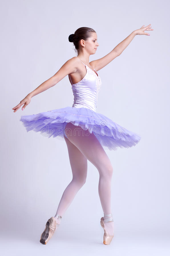 Modern style dancer stock photography