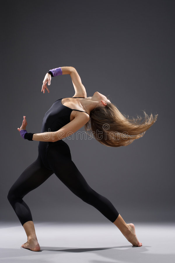 Download Modern style dancer stock photo. Image of fitness, dance - 7653152