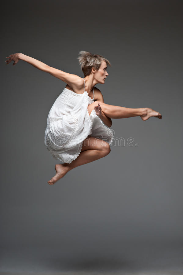 Download Modern Style Dancing Girl Stock Photos - Image: 27075593