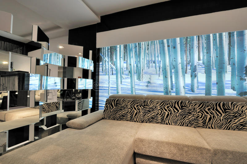 Download Modern Style Living Room Royalty Free Stock Photo - Image: 20647975