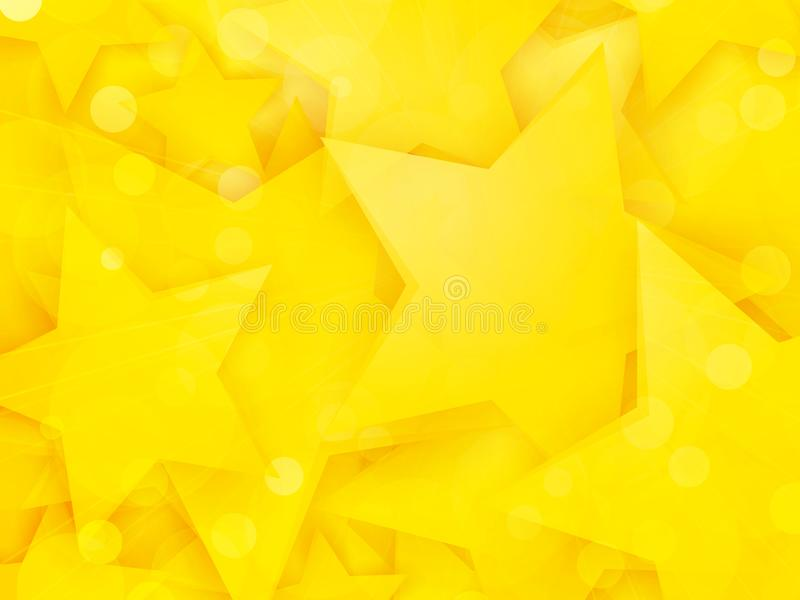 Party background with yellow stars. Modern style party background with yellow stars vector illustration