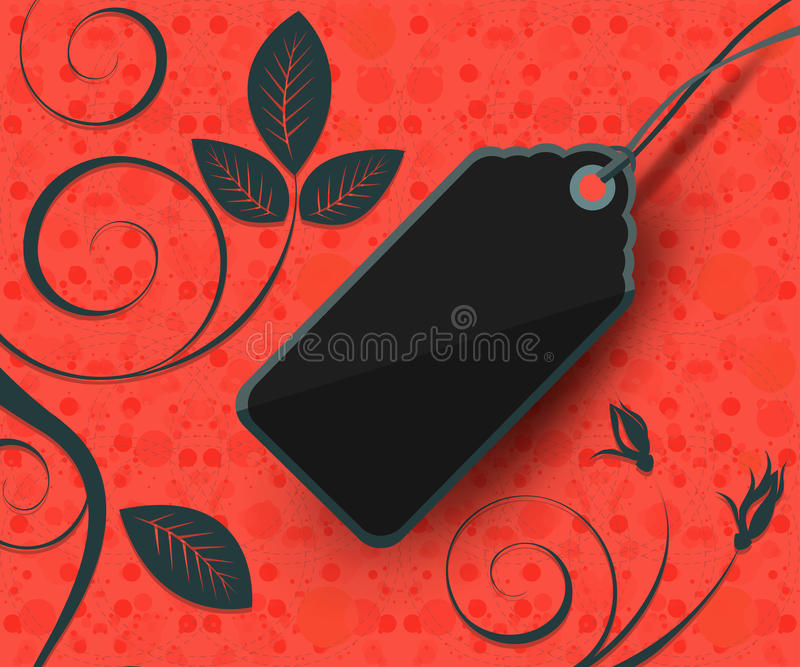 Download Modern Style Sale Tag Design Stock Vector - Illustration of promotion, discount: 44056282