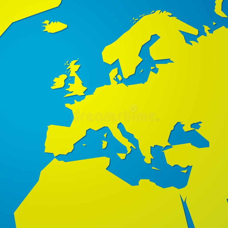 Simple Map Europe Stock Illustrations – 13,258 Simple Map ...