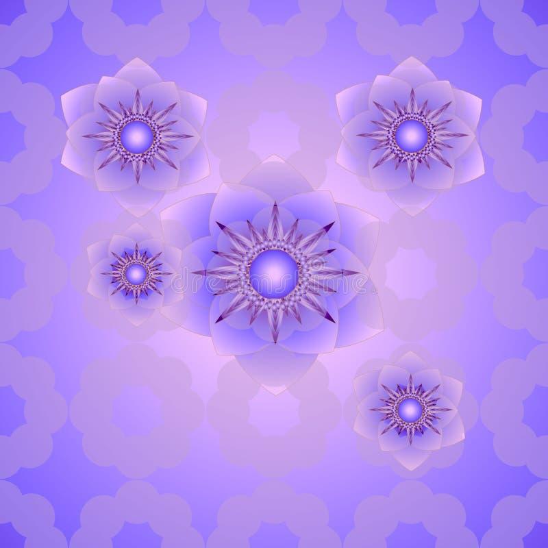 Modern stylish floral texture. Seamless geometric pattern of circles. Modern stylish floral texture. Seamless geometric pattern of circles, beautiful stock illustration