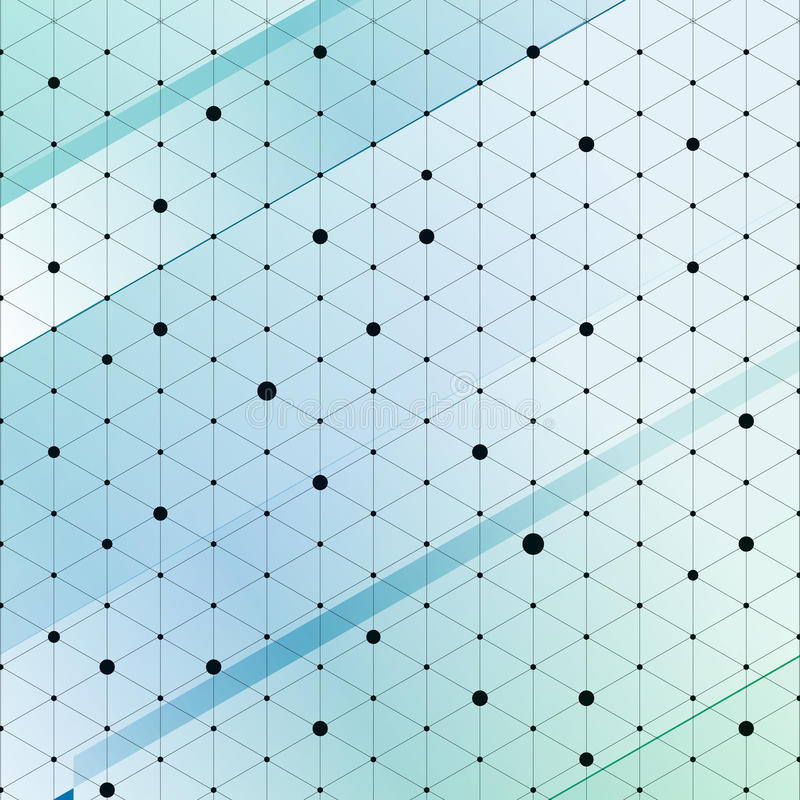 Modern stylish isometric pattern texture, Three-dimensional rectangle, Repeating geometric background with rhombus circles. Variously, vector illustration royalty free illustration