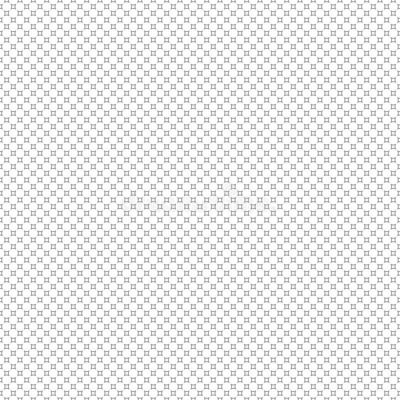 Modern stylish texture. Repeating circles background. Seamless a. Bstract with black circles on white background royalty free illustration