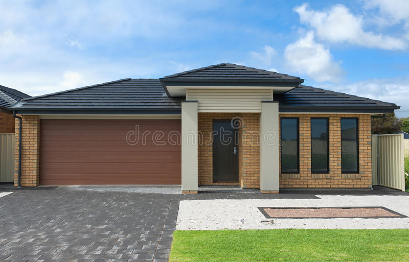 Modern Suburban House royalty free stock photography