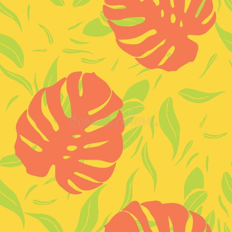 Modern summer fruits seamless pattern design summer wine collection royalty free stock images
