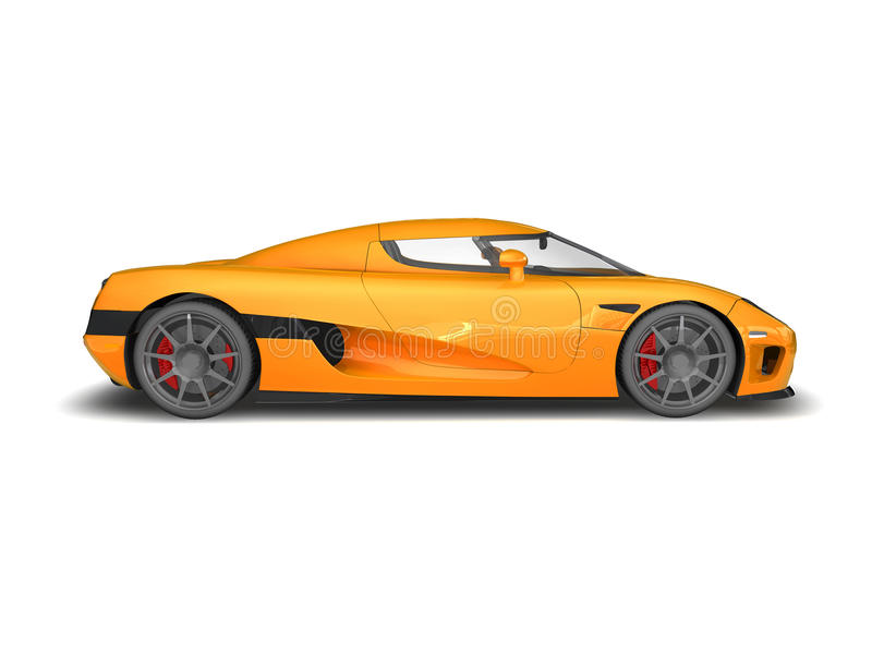 3D Render Of Koenigsegg CCX On White Background