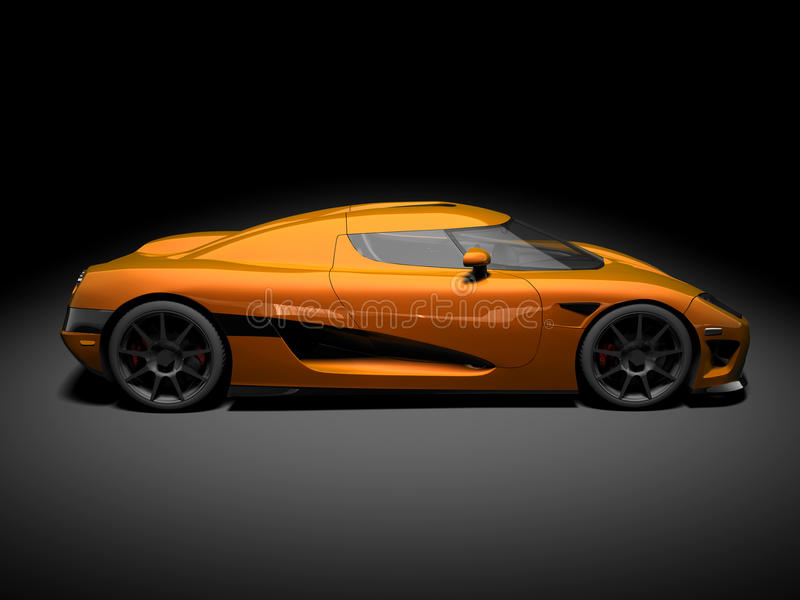 Modern Super Car 6 royalty free stock image