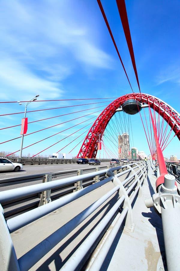 Free Modern Suspension Bridge Royalty Free Stock Photo - 9201135