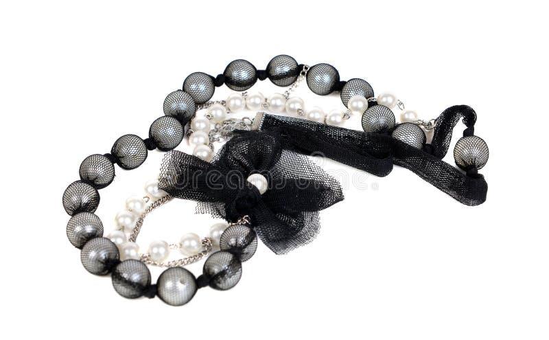 Modern svartvit halsband arkivfoton