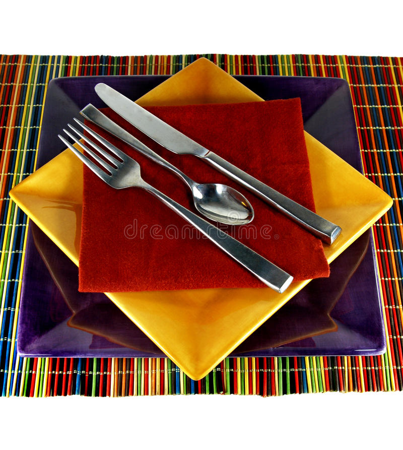 Free Modern Table Setting Royalty Free Stock Photography - 10409257