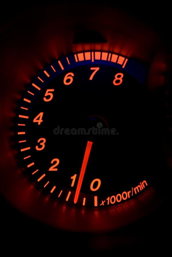 modern tachometer för bil royaltyfri bild