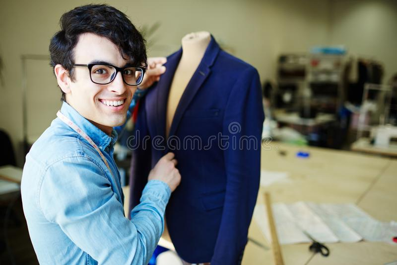 Modern tailor stock photography