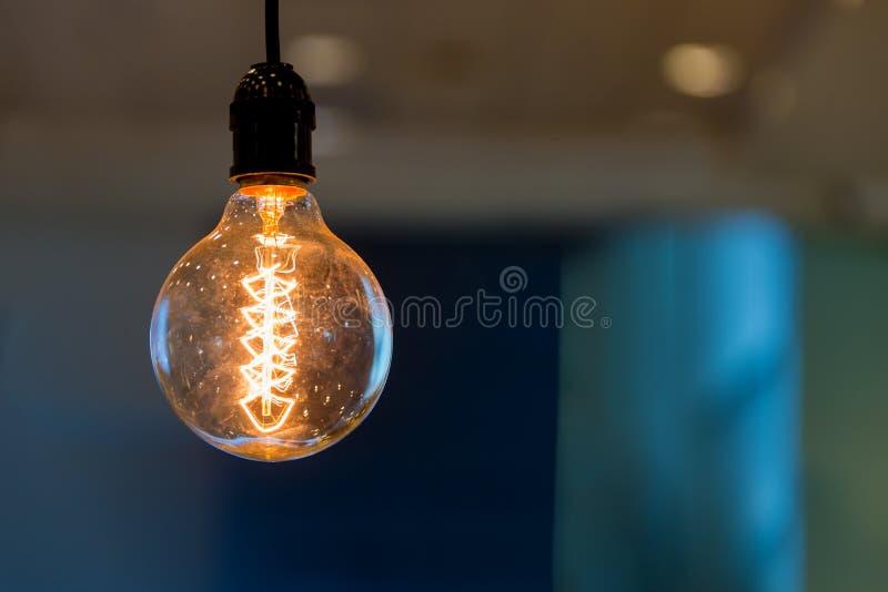 Modern taklampa för stil för tappning för inregarnering royaltyfri fotografi