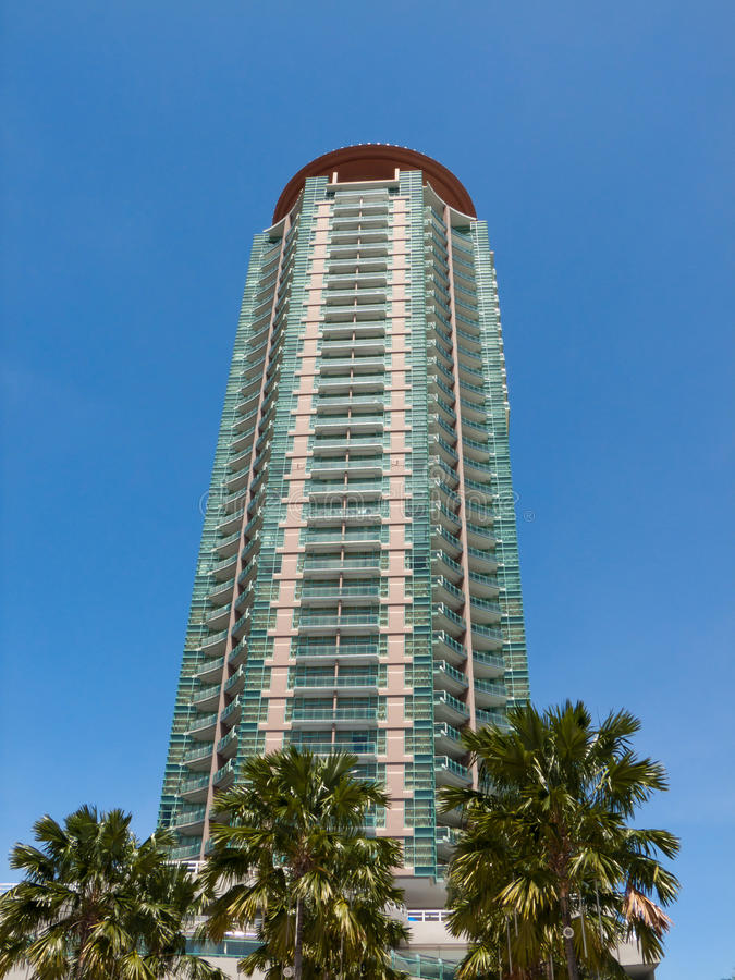 Modern Tall Building Royalty Free Stock Photography