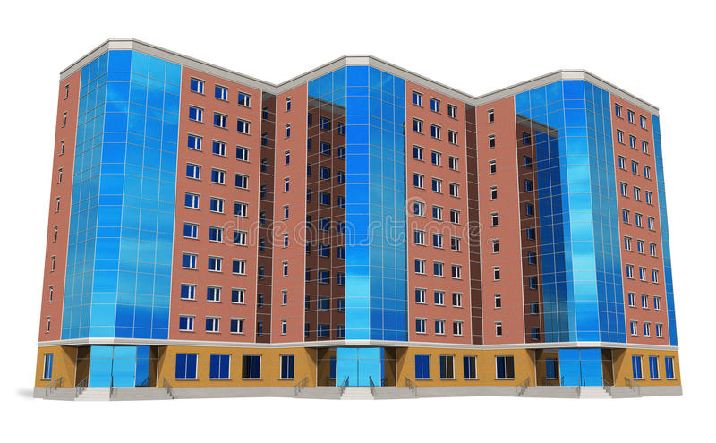 Download Modern Tall Business Building Stock Illustration - Image: 17979527