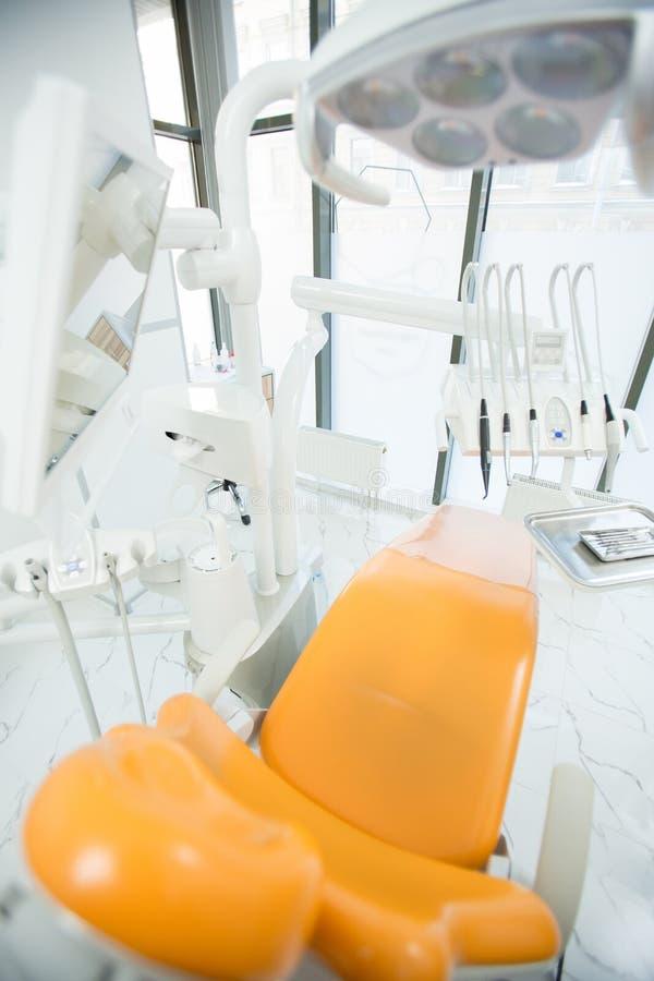 Modern tandheelkundebureau stock afbeeldingen